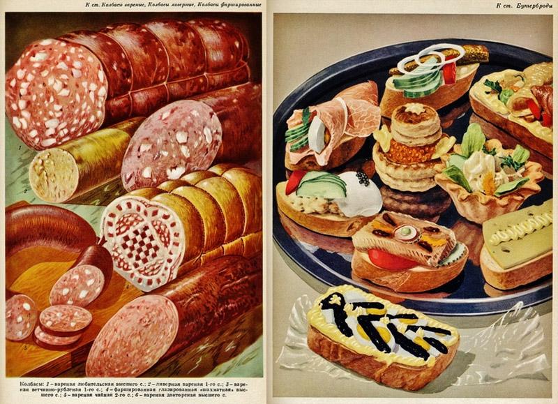 Советские плакаты. Советский Food Porn.