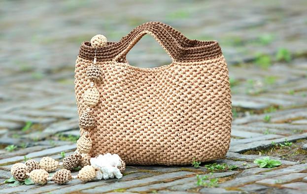 Как связать сумку за два часа: мастер-класс. Хозяйственная или пляжная сумка — быстро и просто!