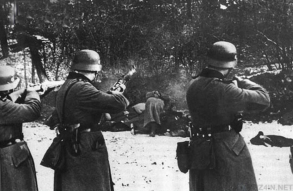 Отрывок из дневника охранника СС: День расстрела 23 человек
