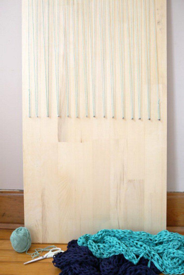 Коврик для ванной комнаты, сделанный собственными руками