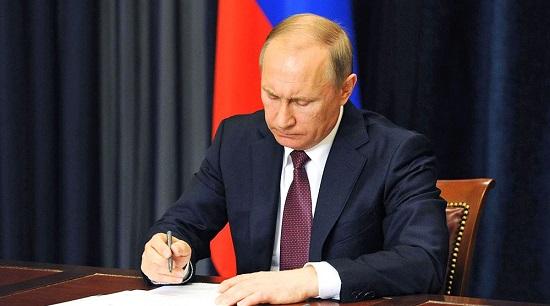 Путин подписал указ о признании в России документов жителей Донбасса