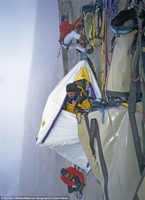 Ночлег альпинистов в национальном