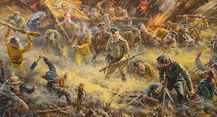 Святая Русь от Пересвета до Николая II глазами современного художника.