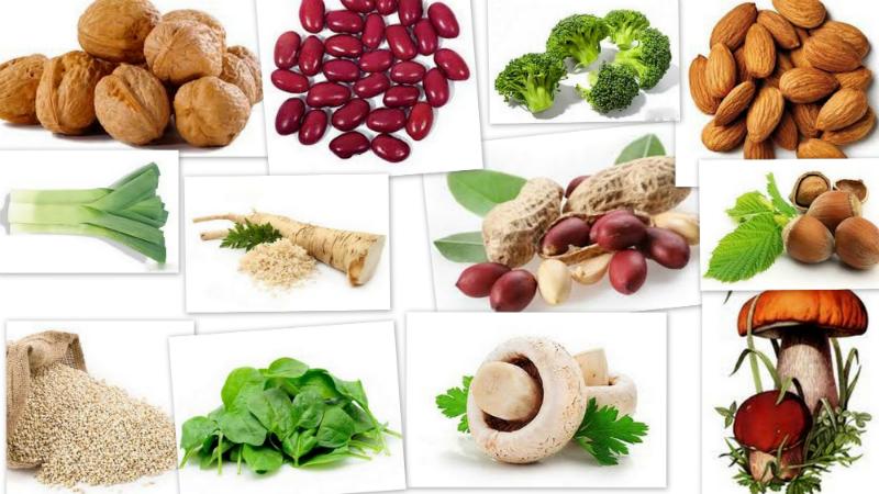 продукты с содержанием фолиевой кислоты