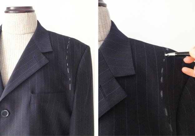 Подплечники для мужского пиджака своими руками 39