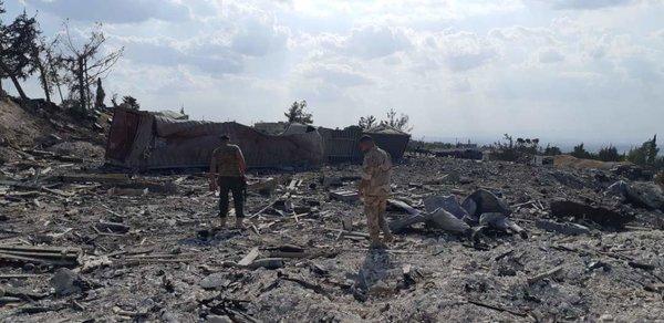 Израиль сходит с ума. При массированном ударе по Сирии могла быть применена ракета с ядерной начинкой