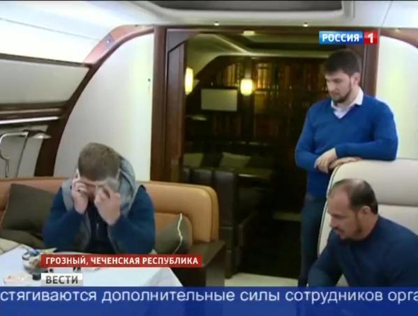 Кадыров вылетел в Москву... Вылетел? Или сбежал!
