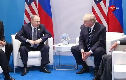 Первая встреча: о чем говорили Путин и Трамп больше двух часов