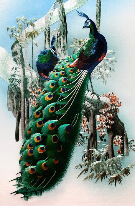 Искусство шелка — легендарная сучжоуская вышивка на современный манер