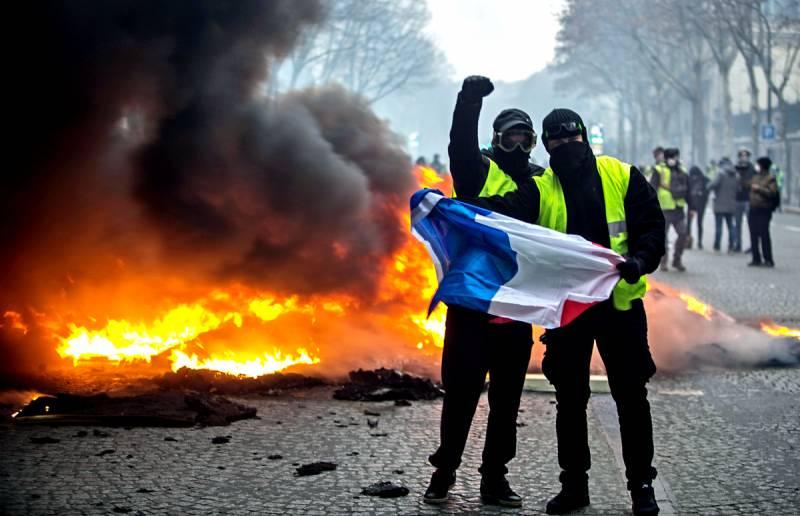 Франция на пороге гражданской войны
