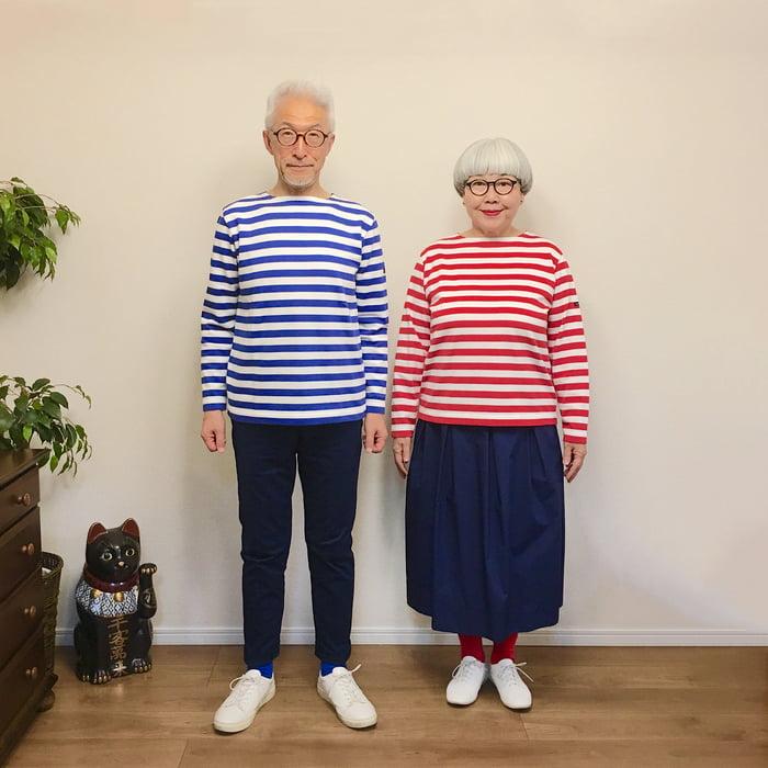 Удивительные! 38 лет вмести и каждый день они выходят на улицу в одинаковой одежде!