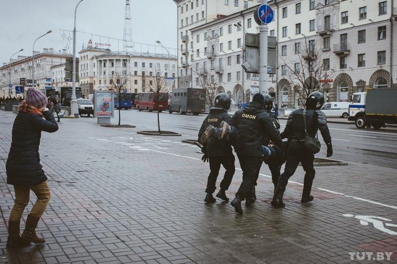 По следам вчерашнему Минских протестов, разбор полётов.