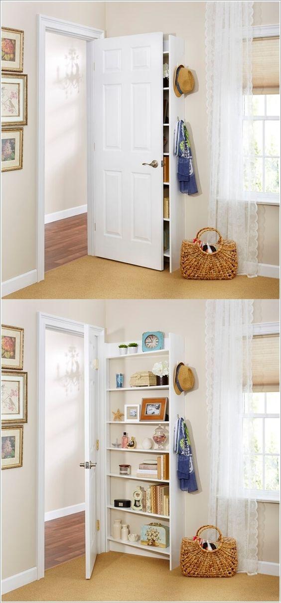 Шкаф за дверь