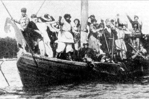 108 лет назад состоялся показ первого российского художественного фильма «Понизовая вольница»