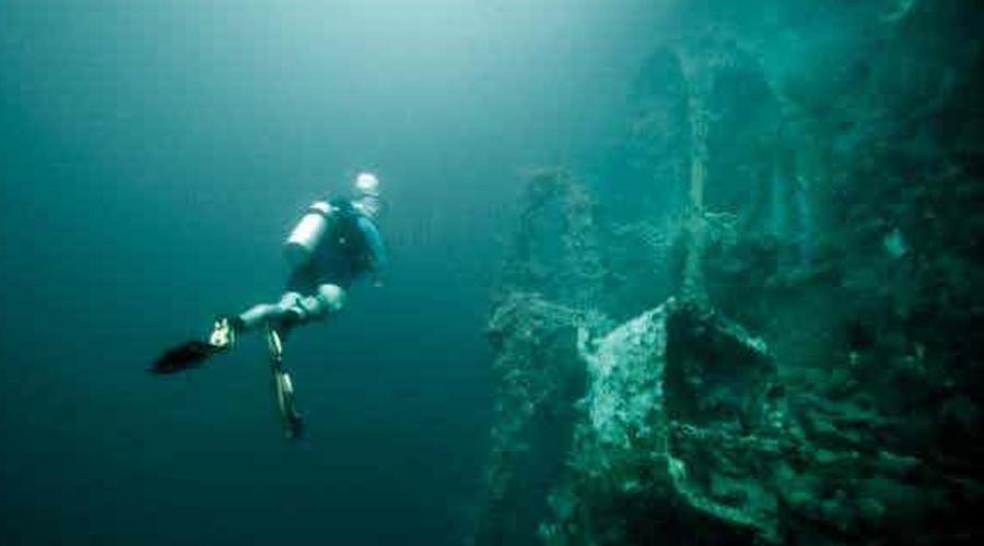 Невероятные находки глубоководных дайверов