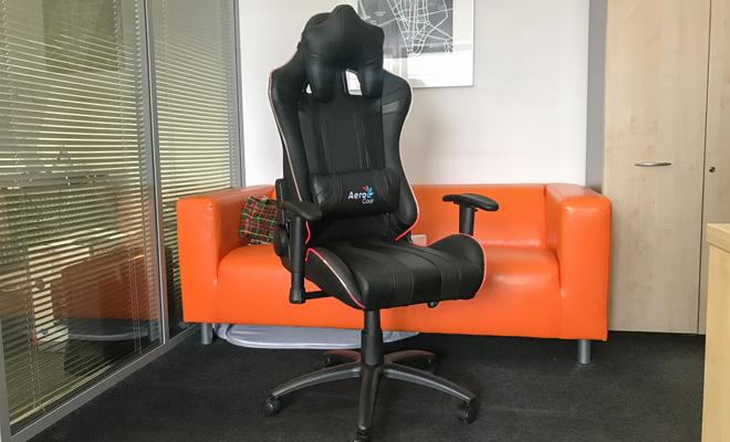 AeroCool AC120 RGB: стильное геймерское кресло с подсветкой