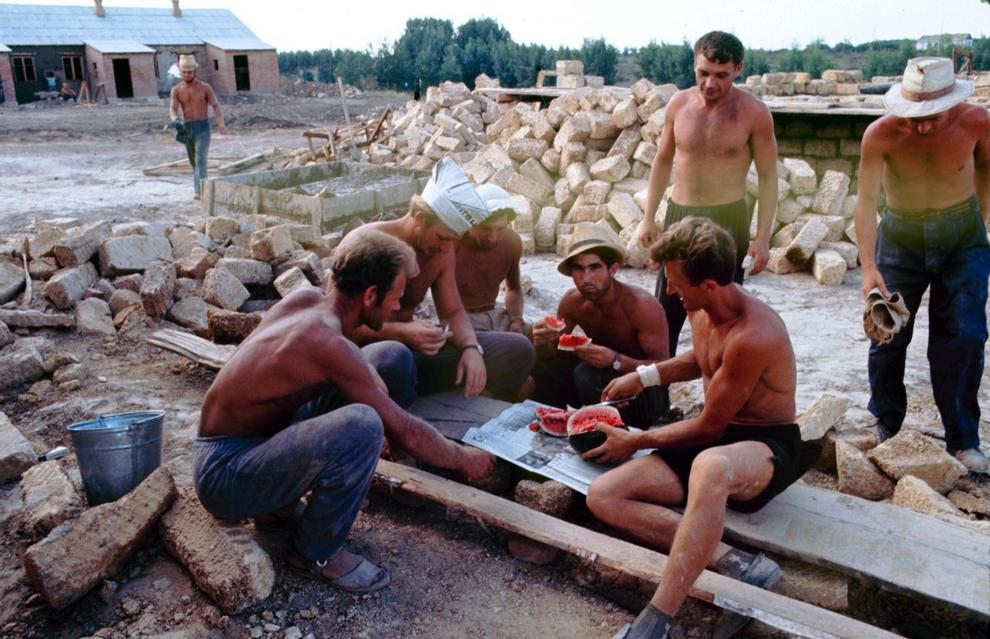 Как жила советская молодёжь в 1967 году. Снимал американский фотограф Билл Эппридж 54