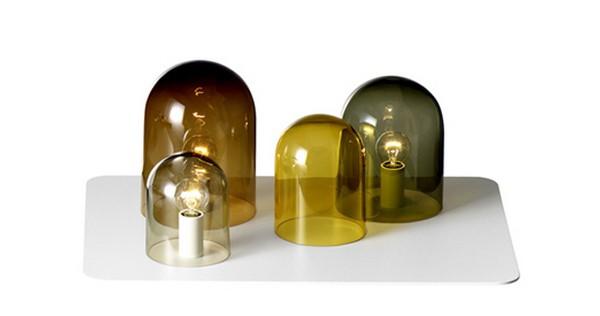 Стеклянные светильники в интерьере - легкость бытия