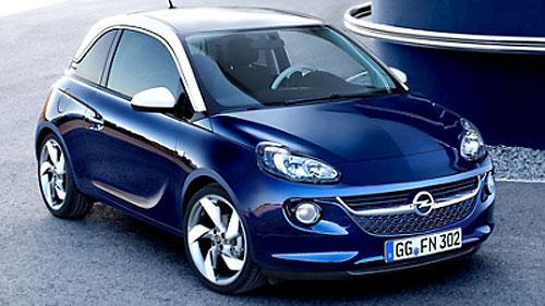 Opel раскрыла дату начала продаж сити-кара Adam в России
