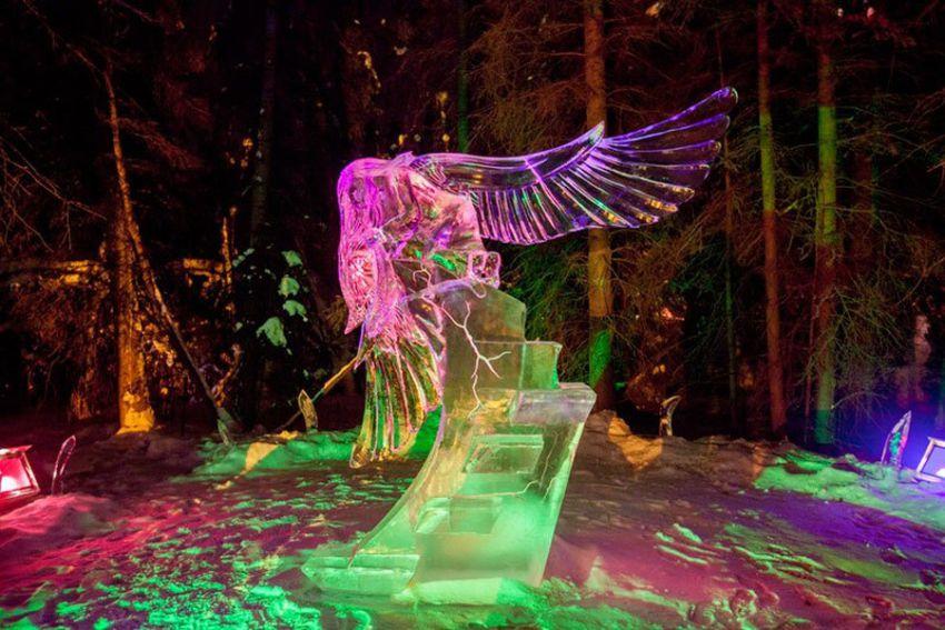 ледяные скульптуры, искусство