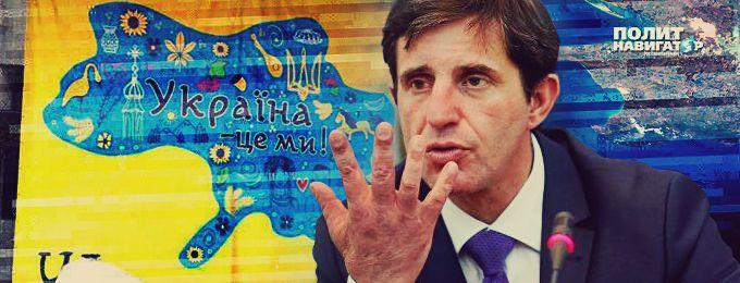 Шкиряк «настучал»  в полицию на местные власти Броваров за плакат с Украиной без Крыма