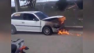 Тушение авто по-Филиппински