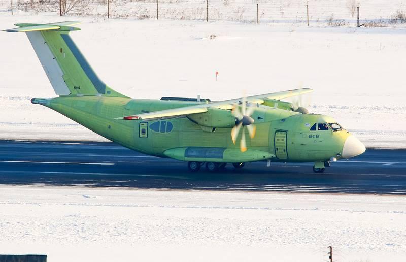 Первый полёт нового Ил-122В намечен на конец марта - начало апреля