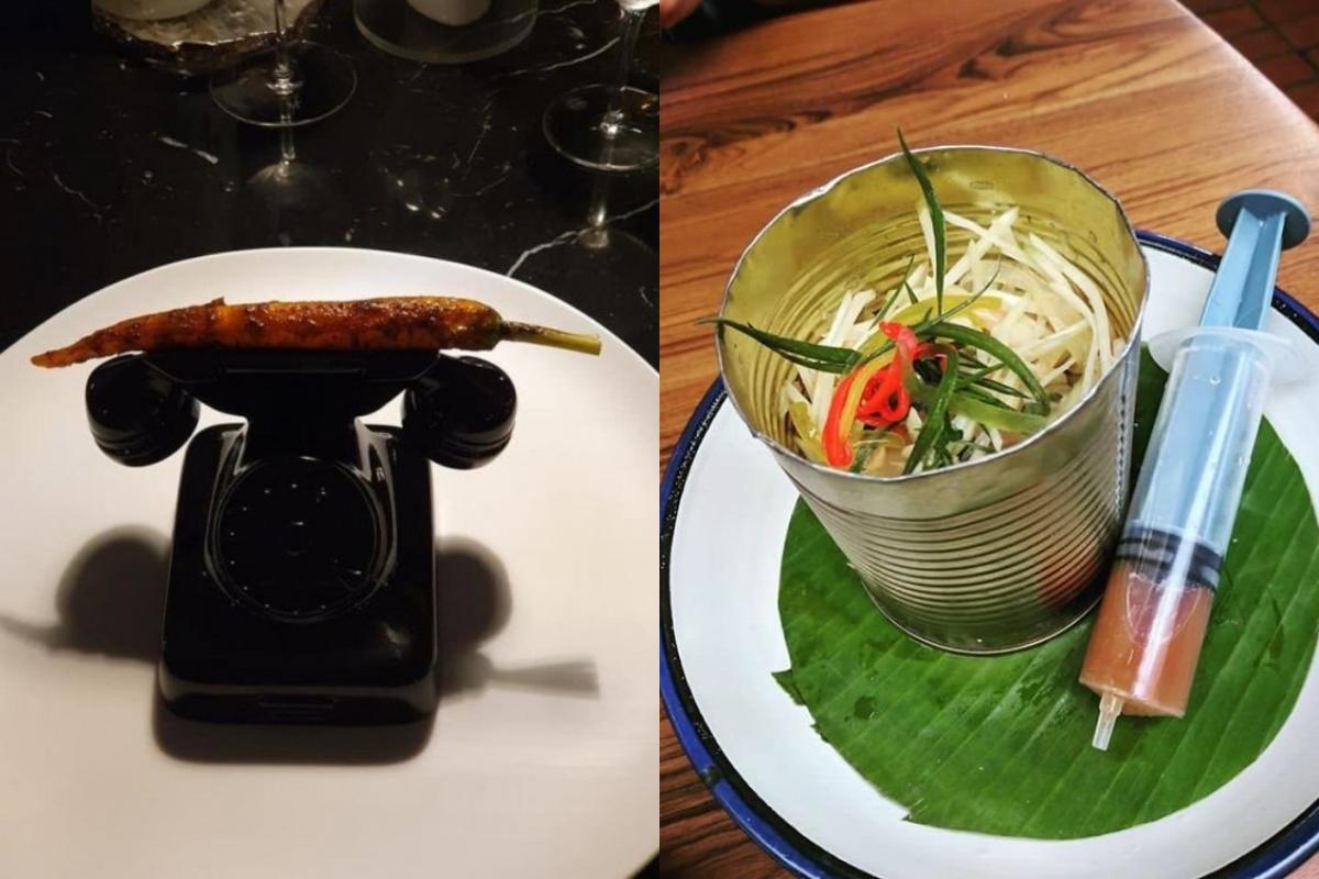 30 примеров странной, но креативной подачи блюд в ресторанах
