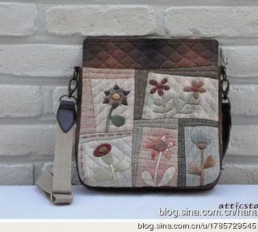 Идеи лоскутных сумок