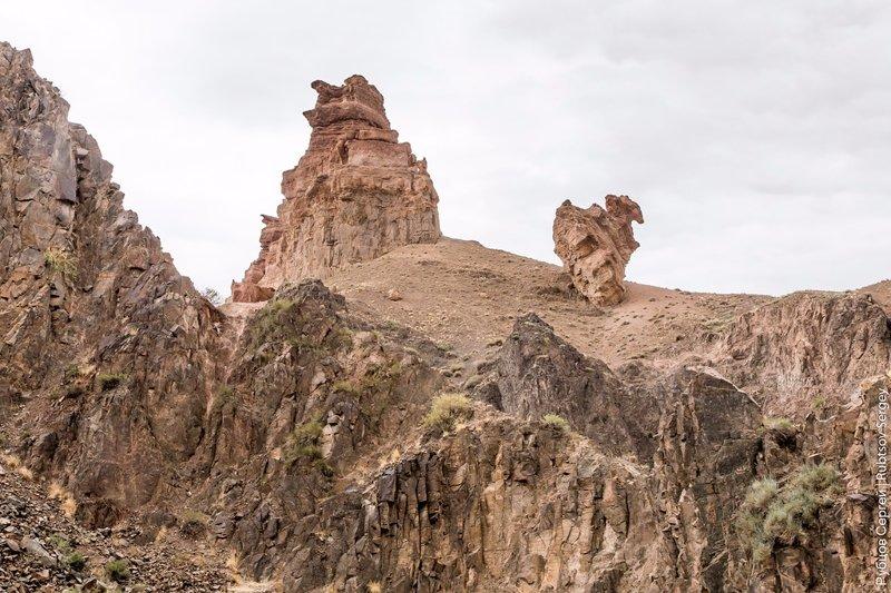 Гранд Каньон в Казахстане. Чарынский национальный парк Чарынский каньон, казахстан, путешествия, страны, фоторепортаж