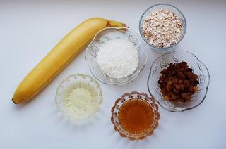 Овсяное печенье с кокосом и изюмом