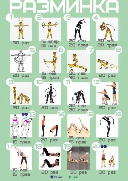 Необходимые упражнения для красивой фигуры 3