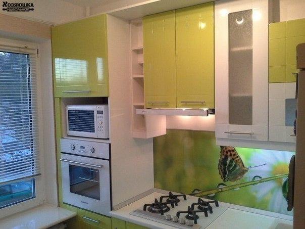 Маленькая и очень удобная кухня