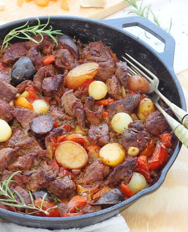 Как приготовить мясо с картошкой в казане: пошаговый рецепт