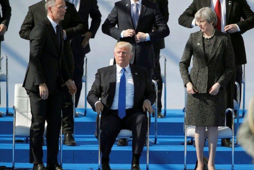 ТРАМП И НАТО: БЫЧОК НА ЛБУ НЕ ЗАТУШИЛ — И НА ТОМ СПАСИБО. ЮЛИЯ ВИТЯЗЕВА