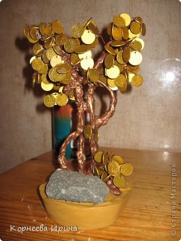 Мастер-класс День рождения Моделирование конструирование Денежное дерево МК фото 20