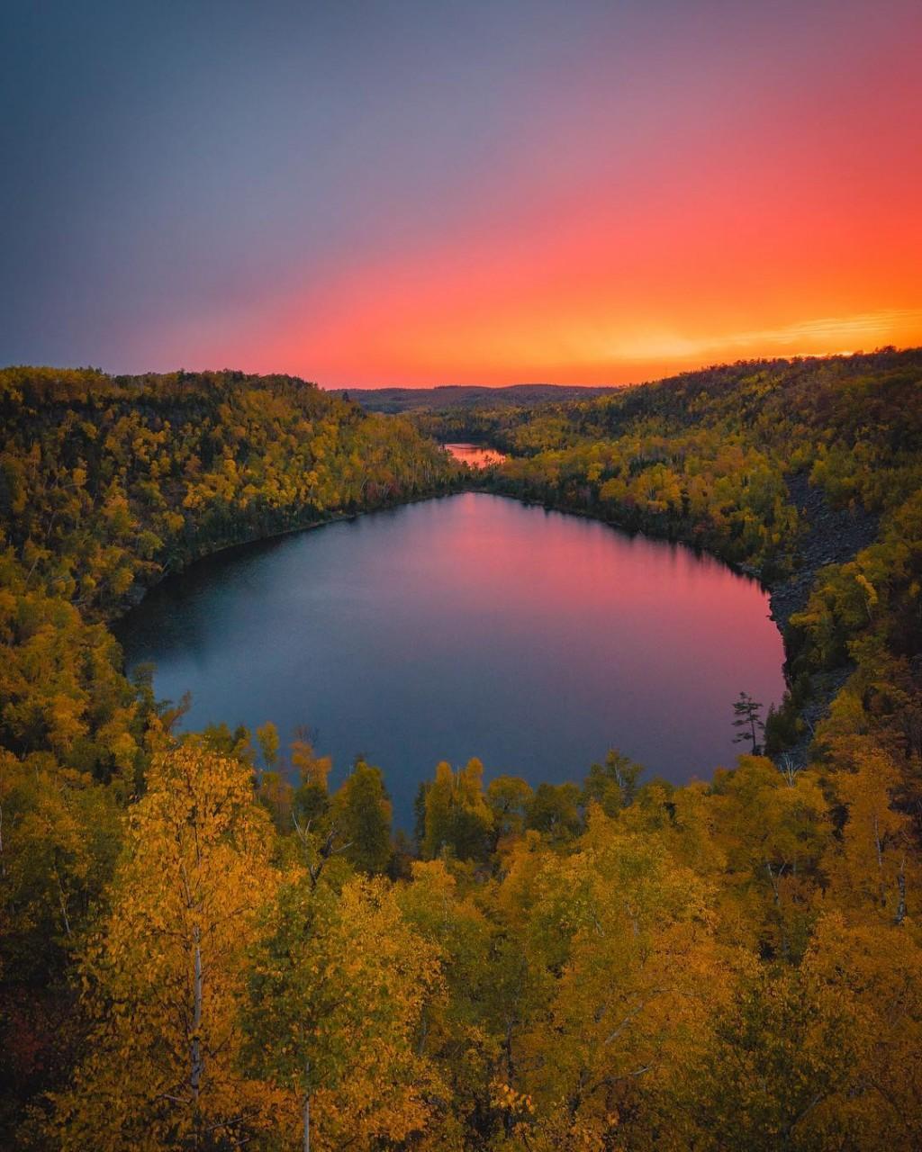 Осенняя Словения. Захватывающие пейзажи Джорджа Илструпа