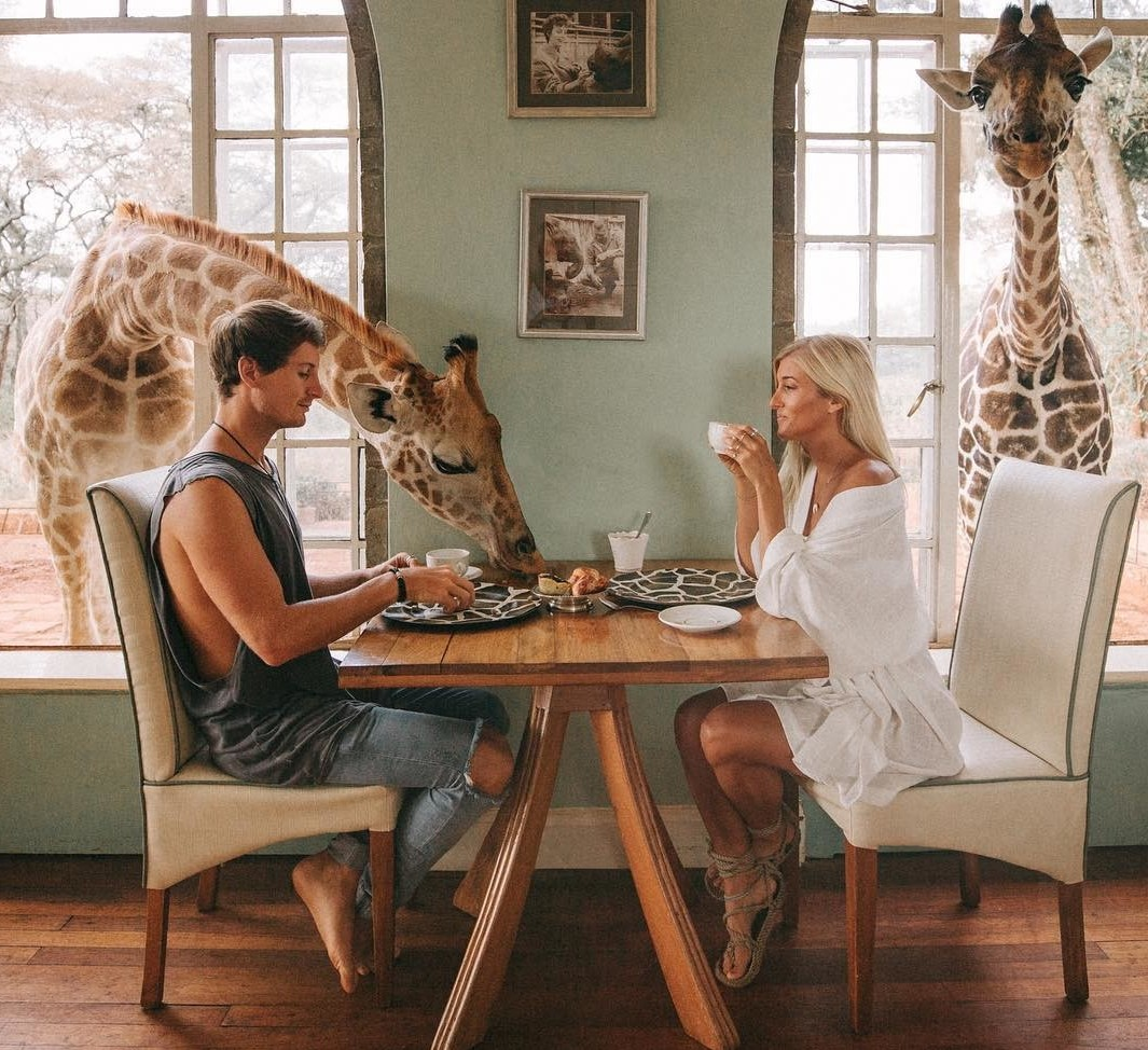 Эта пара путешествует по миру, зарабатывая до 9 тысяч долларов за фото