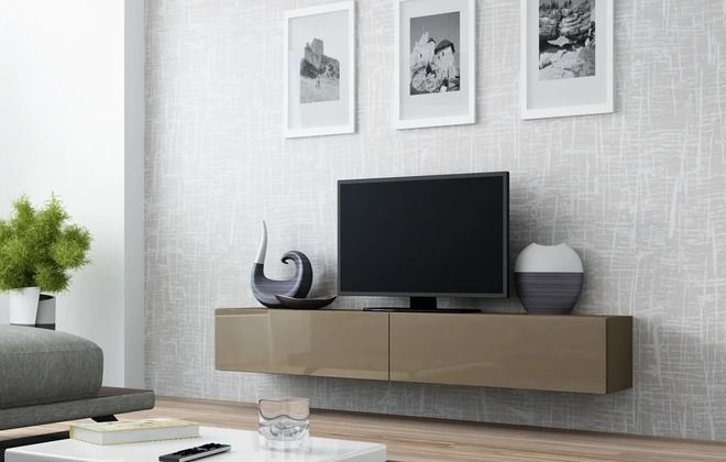 подвесной комод под телевизор