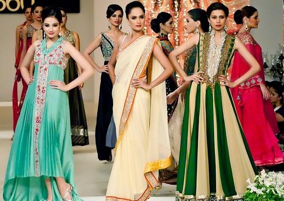 Платья в индийском стиле