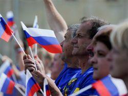 Опрос: россияне считают США и Украину главными врагами страны