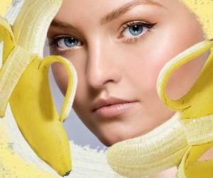 Маска для лица из банана: польза фруктов налицо