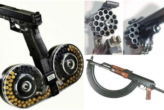 Настоящее оружие для тех, кто не привык экономить патроны.