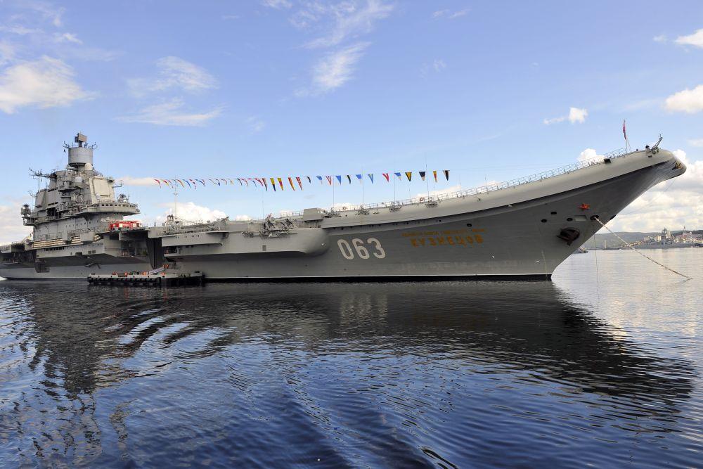 """Сирийский опыт """"Кузнецова"""" ляжет в основу требований к новым авианосцам"""