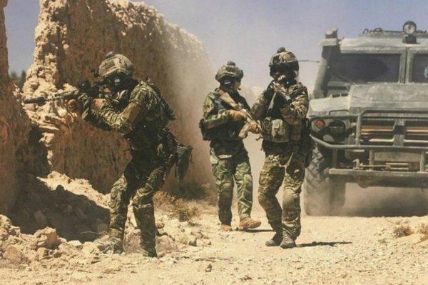 Российский спецназ отработал огонь по американцам в Сирии: противник был взят врасплох