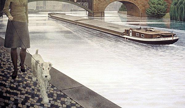 Реки Шпрее - картина Алекса Колвиллом