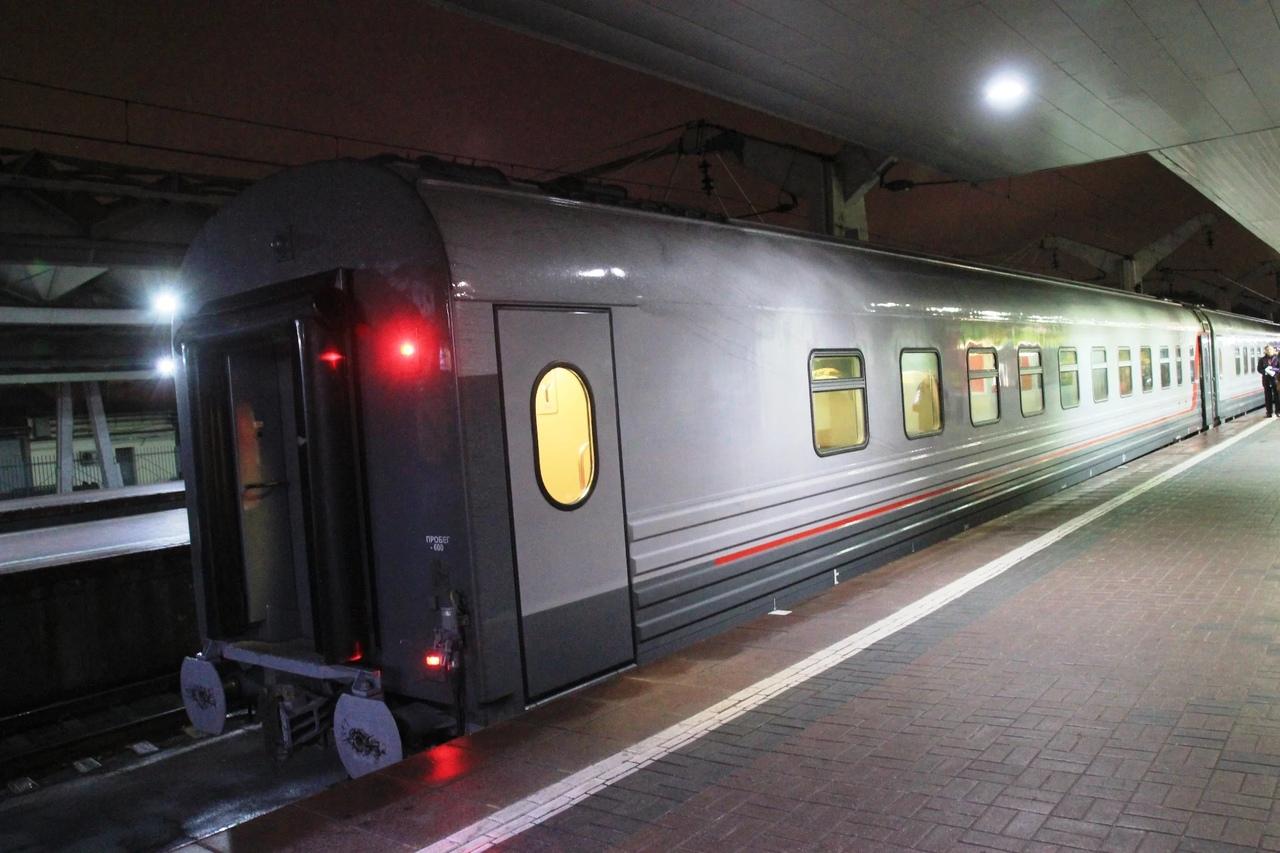 Этот поезд будет ходить в Крым