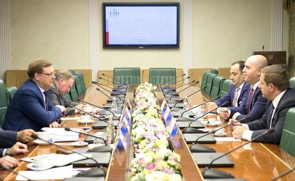 Косачев: отношения сАрменией системно развиваются