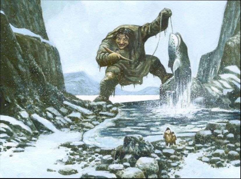 Мифология Арктики. Демоны и великаны севера
