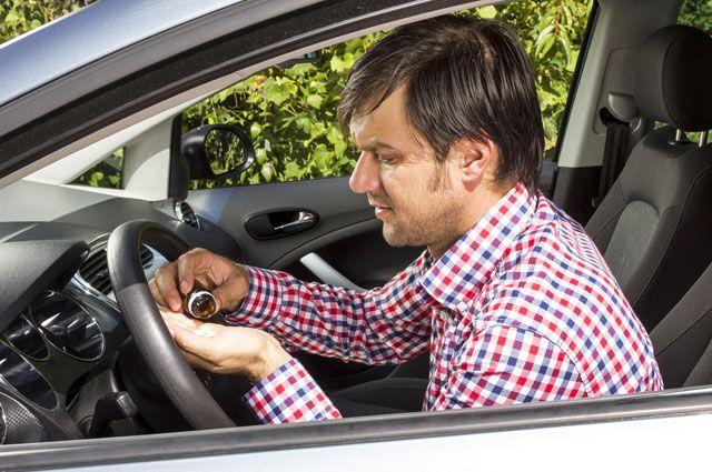 Чего нельзя водителю. Какие лекарства опасно принимать за рулём